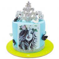 کیک تاج روز دختر