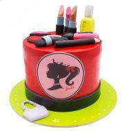 کیک لوازم آرایش روز دختر