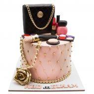 کیک کیف و لوازم آرایش شنل