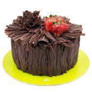 کیک تنه شکلاتی