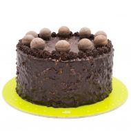 کیک شکلات بادامی