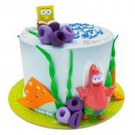 کیک باب اسفنجی و پاتریک در اقیانوس