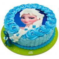 کیک تولد دخترانه السا 4
