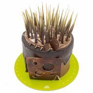 کیک شکلاتی افشان