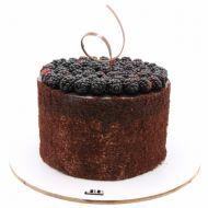 کیک شکلاتی تمشک