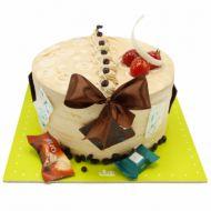 کیک شکلات فانتزی