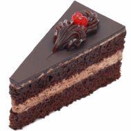 دسر شکلاتی مثلثی