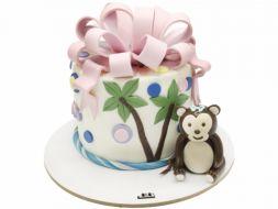 کیک میمون کوچولو