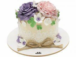 کیک گل