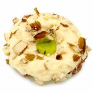 شیرینی کوکی رژیمی وانیلی بادام درختی