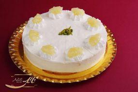 دسر چیز کیک وانیلی