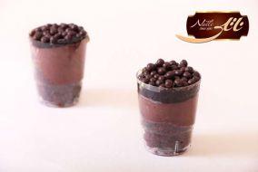 دسر شات شکلات کریسپی