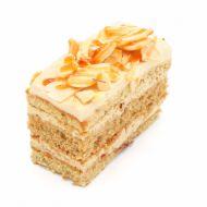 شیرینی نسکافهای با پرک بادام