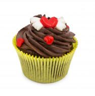 کاپ کیک قلب قرمز
