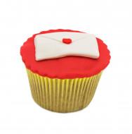 کاپ کیک نامه عشق