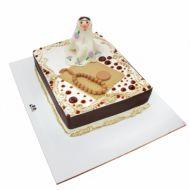 کیک جشن تکلیف مبارک