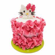 کیک تولد دخترانه هلو کیتی
