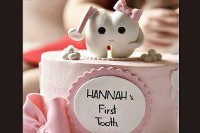 کیک دندونی اولین دندان