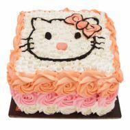 کیک تولد دخترانه کیتی عاشق