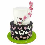 کیک تولد دخترانه کیتی طبقاتی