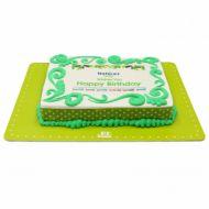 کیک تولد ساده