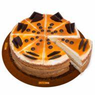 کیک دلسه دلاچه کافی شاپی