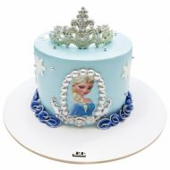 کیک تولد دخترانه السای زیبا