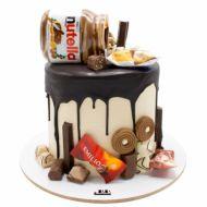 کیک خامه ای نوتلا