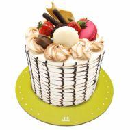 کیک فیگور موج ماکارون