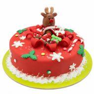 کیک پاپیونی قرمز